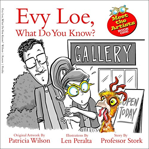 Evy Loe, What Do You Know? audiobook cover art