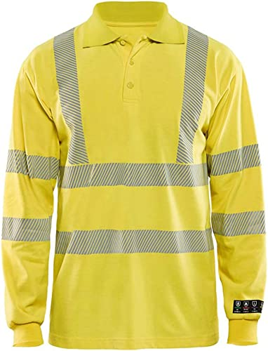 Multinorm Polo hommeches longues Jaune L