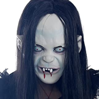 Halloween Horror Witch Mask Grudge Ghost Mask