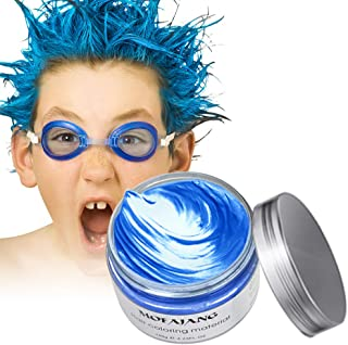 Arsty Temporary Hair Color Wax,Instant Hair Pomades for Men Women, Natural Hairstyle Wax for Party, Cosplay