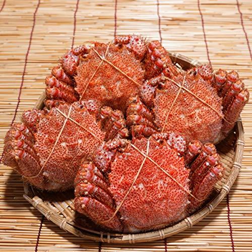 かにのマルマサ 北海道産 ゆで毛蟹 2kg詰4尾セット 未冷凍 冷蔵品