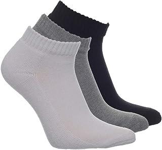 Half Socks Set 3 Pcs for Unisex