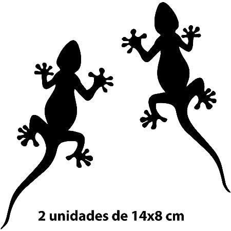 Auto Aufkleber Motiv Geckos Eidechsen Küche Haushalt