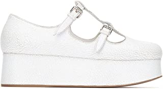 Miu Miu Luxury Fashion Womens 5F861C3L4DF0009 White Flats | Fall Winter 19
