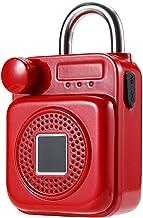 vingerafdruk hangslot mini rugzak vorm bluetooth speaker smart lock USB opladen APP/vingerafdruk ontgrendelen hangslot vin...