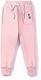 Fruitsunchen Toddler Boys Girls Plus Velvet Thickening Winter Fleece Jogger Warm Pants