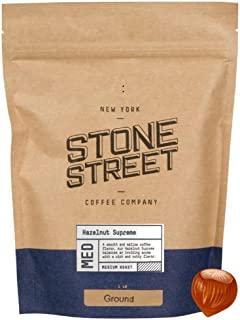 HAZELNUT SUPREME Flavored Ground Coffee | 1 LB Bag | Freshly Roasted 100% Colombian Arabica with Flavor