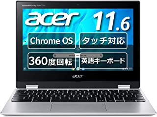 Google Chromebook Acer ノートパソコン Spin 311 CP311-3H-A14N/E 11.6インチ 360°ヒンジ 英語キーボード MediaTek プロセッサー M8183C 4GBメモリ 32GB eMMC タッ...