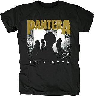 XIANNV Pantera 記念 アメリカ 別種 ロック メンズ/レディース Tシャツ/夏服 スポーツ Tシャツ ブラック/半袖 Tシャ