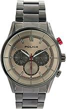 [ポリス] POLICE 腕時計 クロノグラフ クォーツ 15001JSU13M メタルグレー ガンメタ メンズ [並行輸入品]