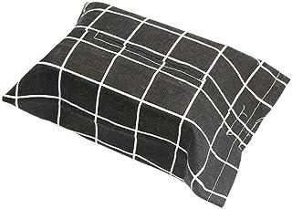 Huilongxin Decorative Japanese Style Cotton Fabric Cotton facial Facial Tissue Paper Holder Napkin Box Hanging Bag