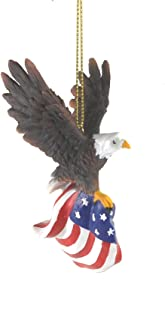 GALLERIE II 4-in. Resin Ornament, Flying Eagle Flag