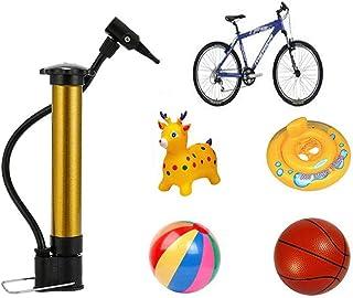 JIASHA Bomba de Baloncesto,Neumático Bomba de Aire Baloncesto,Bomba para Bicicleta,Bomba de Alta Presión Portátil de Baloncesto,para Ciclismo, Motocicleta, Neumáticos, Baloncesto, Fútbol