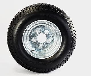 Trailer Tire On Rim 20.5X8-10 205/65-10 20.5X8.0-10 5 Lug Wheel Galvanized