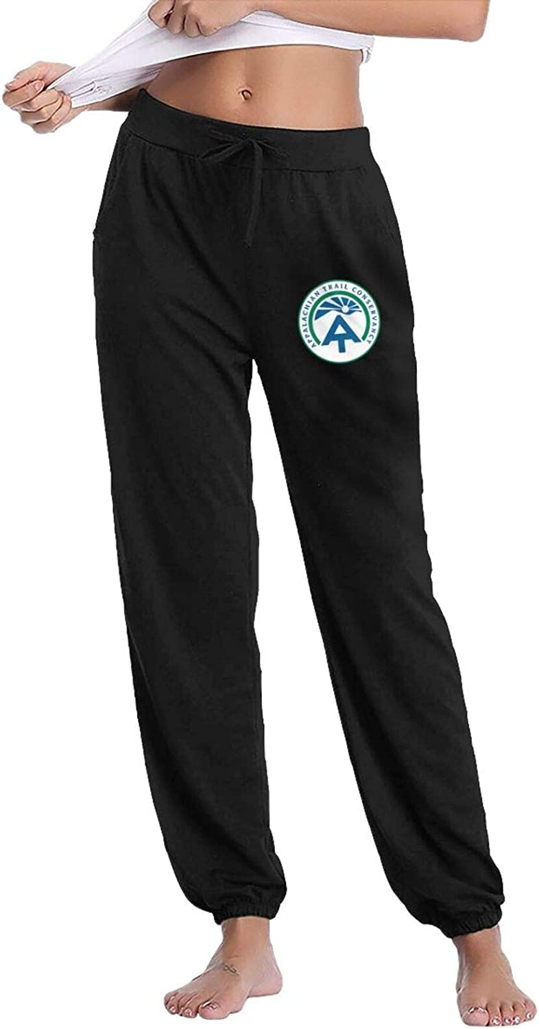 Appalachian Trail at Women's Casual Pants Lounge Long Sweatpants Classic Drawstring Trousers with Pockets