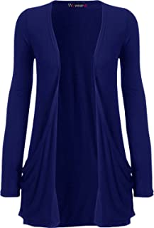 UK 18 WearAll Womens Plus Size Sleevless Long Stud Ladies Sretch Top US 14 Blue