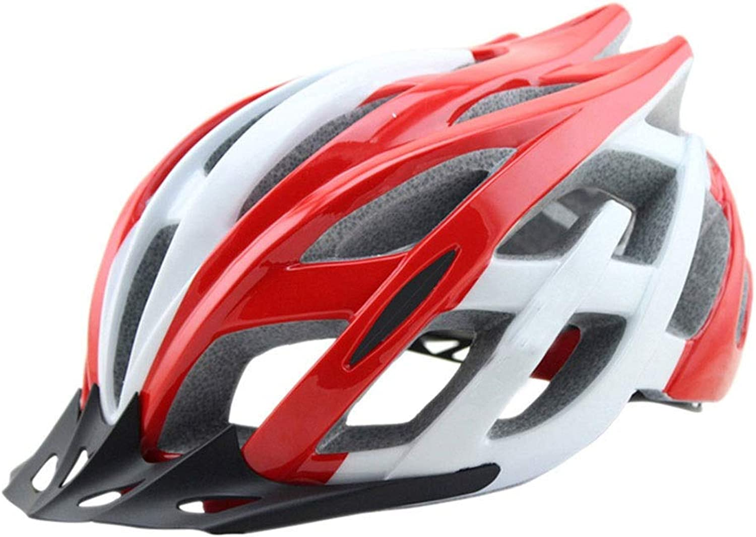 Mountain Bike Helmet Riding Helmet Integrated Molding Bicycle Helmet Outdoor Sports Predective Gear (color   Red)