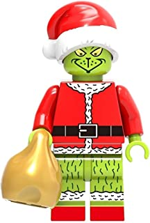 The Grinch Movie   Collectible Building Toys Party Favor Supplies Birthday Kids Gift Action Figure   Santa Suit