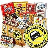 Führerschein + Süsse Geschenkbox DDR + Führerschein Geschenk Ideen