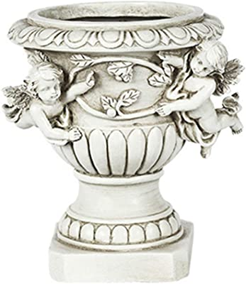 Planter Flower Plant Pots,Fairy Garden Angel Planter Pot Figurines Accessories for Outdoor Garden Decor,Garden Angel Statue Planter