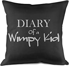 Newpz Diary of a Wimpy Kid Sofa Pillow Cases Microfiber Decorative Double Side Throw Pillow Case Cushion18 X 18