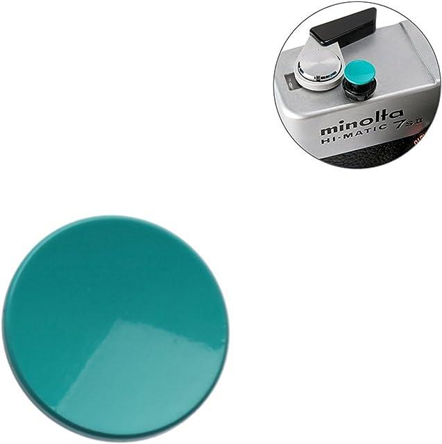 Selens boton de liberacion disparador disparo suave para camaras Leica Hasselblad Olympus Fujifilm etc. Concavo Cian