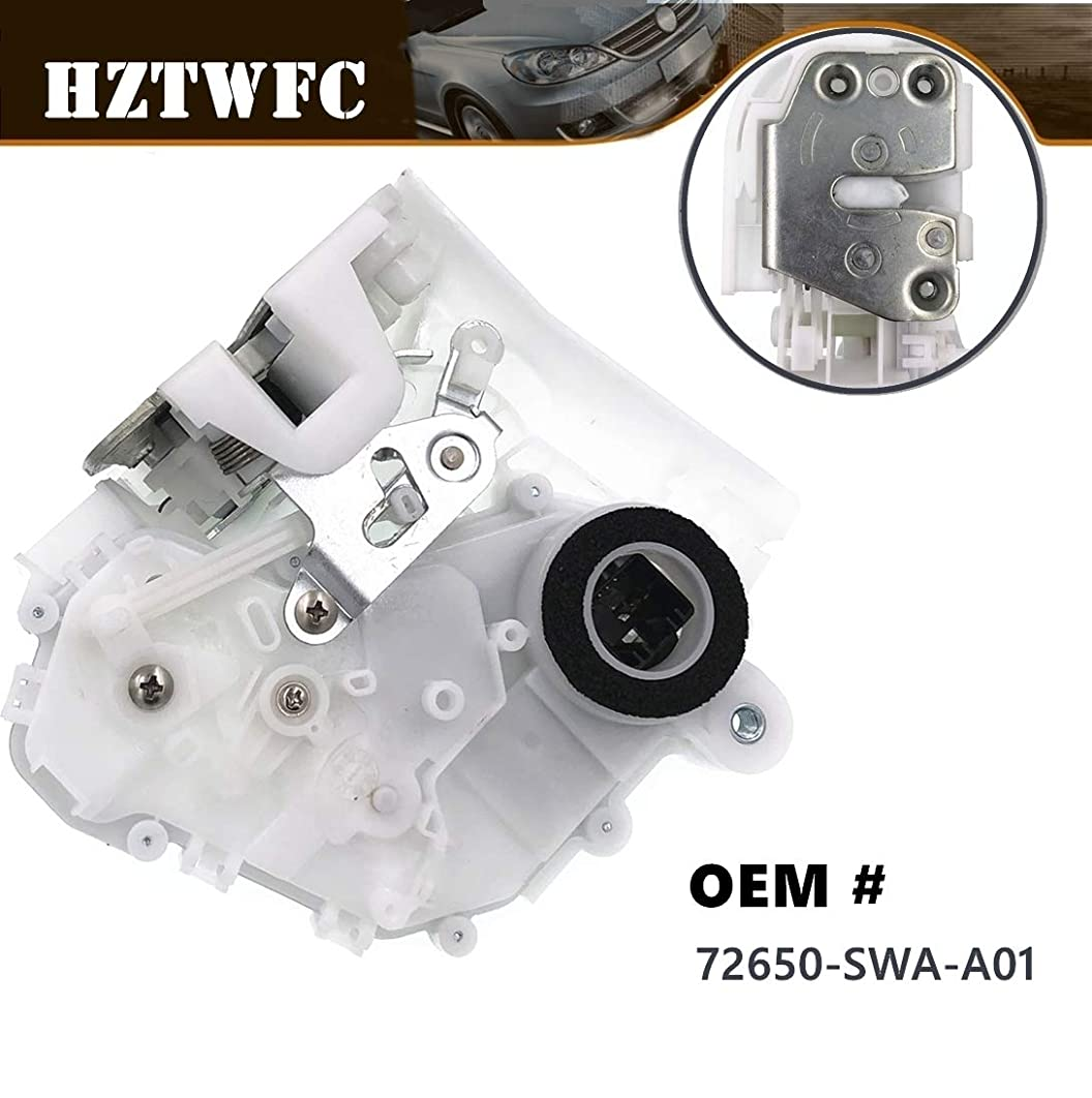 HZTWFC New Power Door Lock Actuator Latch Rear Left Side Compatible for Honda # 72650-SWA-A01