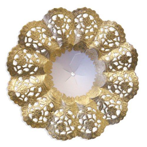 Kunze Walter Design Blumenstraußhalter Dresden 5-teilig Biedermeier 6-1/4-Inch Gold
