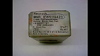 Bosch Rexroth R165119420 Ball Rail Runner Block R165119420