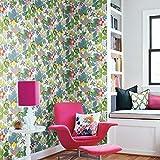 RoomMates RMK11799WP Disney Moana Jungle Peel and Stick Wallpaper