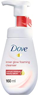 Dove Face Wash Inner Glow for a Smooth and Glowing Skin, facial cleanser, For dull and uneven tone skin type, 160ml
