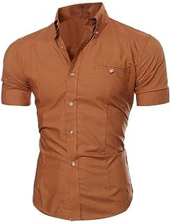 2bae32182e13b Amazon.com  Browns - Tuxedo Shirts   Shirts  Clothing