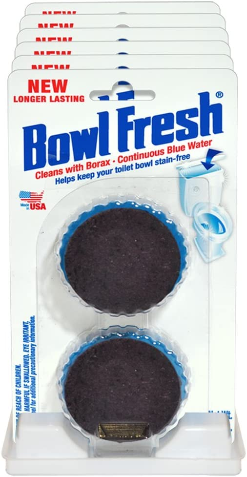 New product Bowl Fresh store Automatic Toilet Cleaner 6 Tablet 2 Pack -