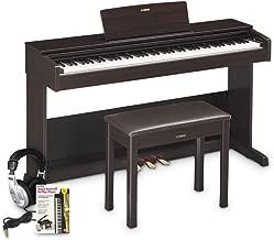 Yamaha YDP103 Arius Console Digital Piano Education Bundle, Rosewood with Headphones