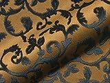 Möbelstoff ADELINA Muster Ornamente Farbe braun als