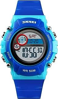 Kid Watch Multi Function Digital LED Sport 50M Waterproof Electronic Analog Quartz Watches for Boy Girl Children Gift