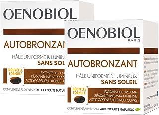 Oenobiol, Autobronzant, Complément alimentaire, 2 Boîtes, 2X30 Capsules
