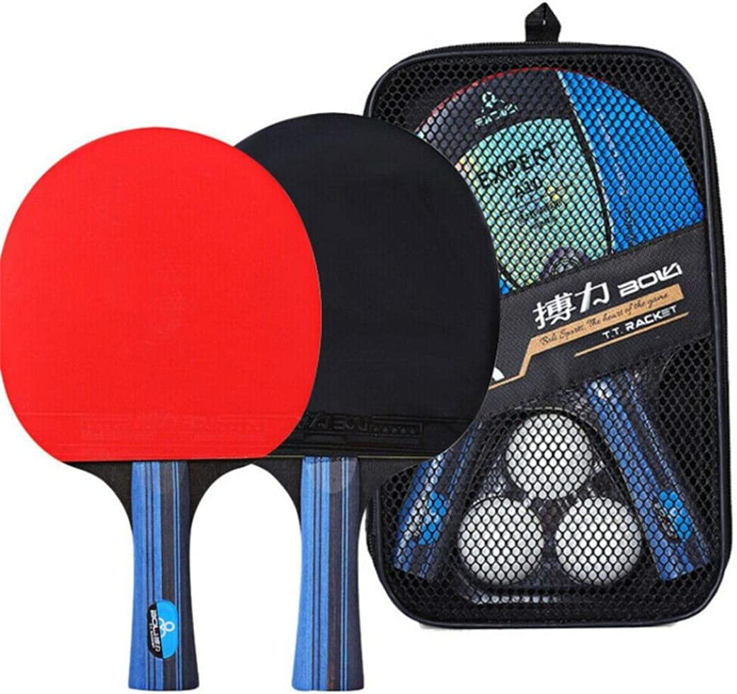 Table Tennis Large discharge sale Rackets Set Purchase Stoc Professional Tennis【US