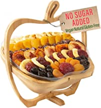 Oh! Nuts Christmas Gift Baskets Healthy No Sugar Added Huge Assortment of Dried Fruit Gourmet Holiday Thanksgiving Family Party Gifts Vegan All Natural Prime Delivery Food Snacks for Men, & Women
