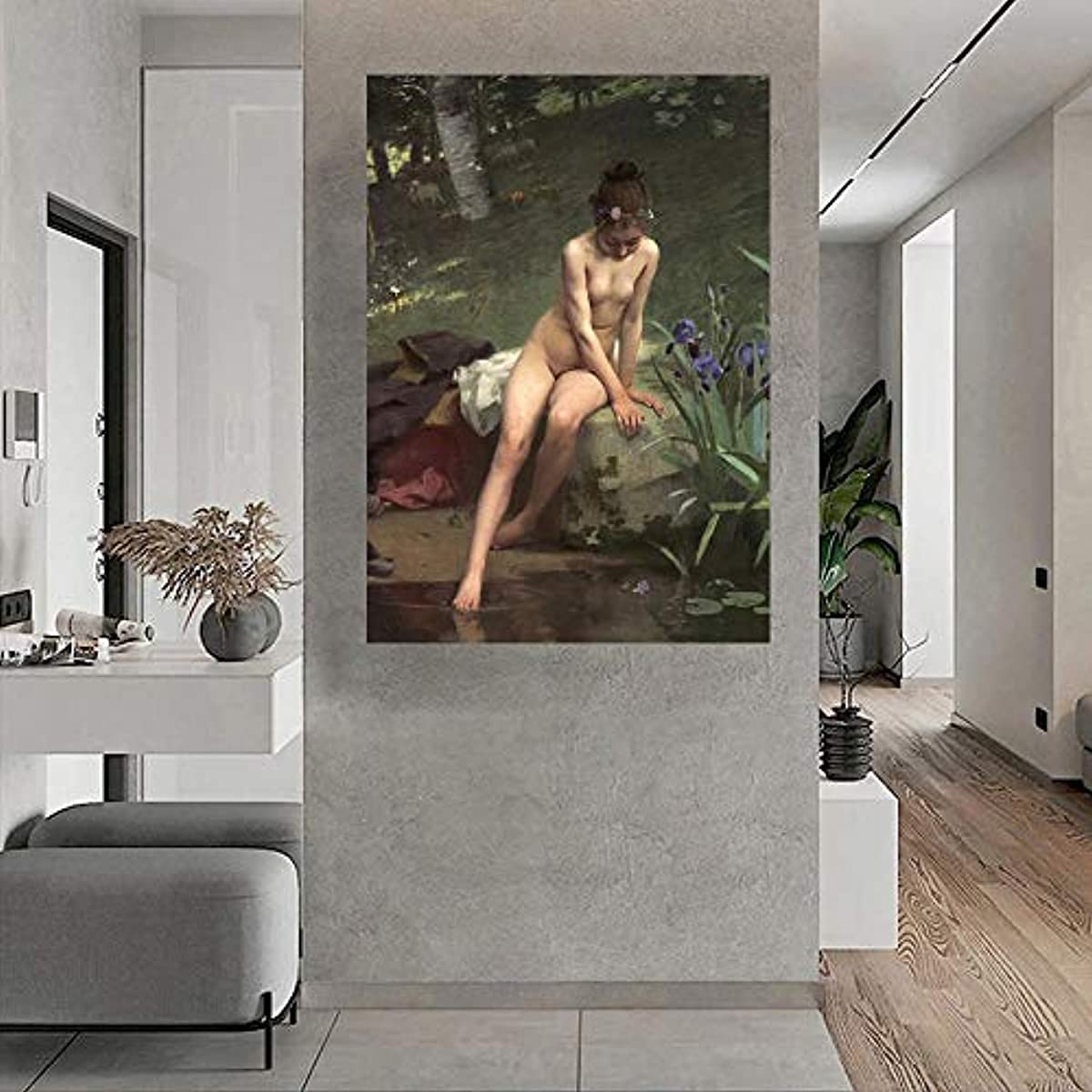 Max 43% OFF espesyal Classical Girl Nude Topics on TV Art Erotic Orien R18 Poster Picture