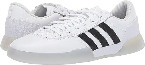 Footwear White/Core Black/Light Greay Hether Solid Grey