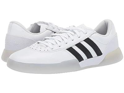adidas Skateboarding City Cup (Footwear White/Core Black/Light Greay Hether Solid Grey) Men