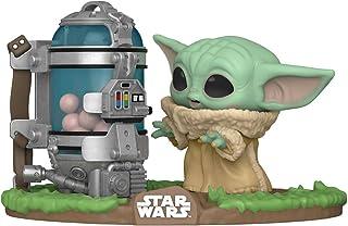 Funko Pop! Deluxe Star Wars: El mandaloriano - El niño con recipiente