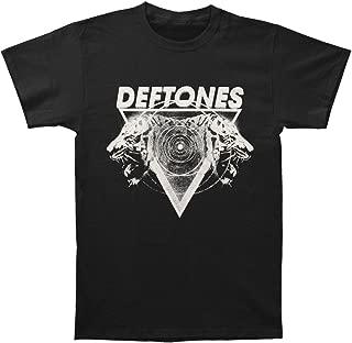 Deftones Men's Hypno Tiger 2012 Tour T-shirt Black