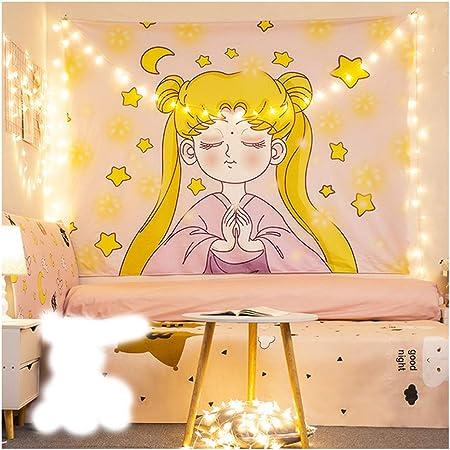 Wandtuch Mit Japanischem Anime Motiv Matrosenmotiv Wandteppich Heimdekoration