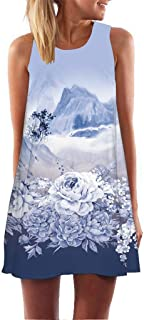 Mimfor Ms. Printed Sleeveless Dress
