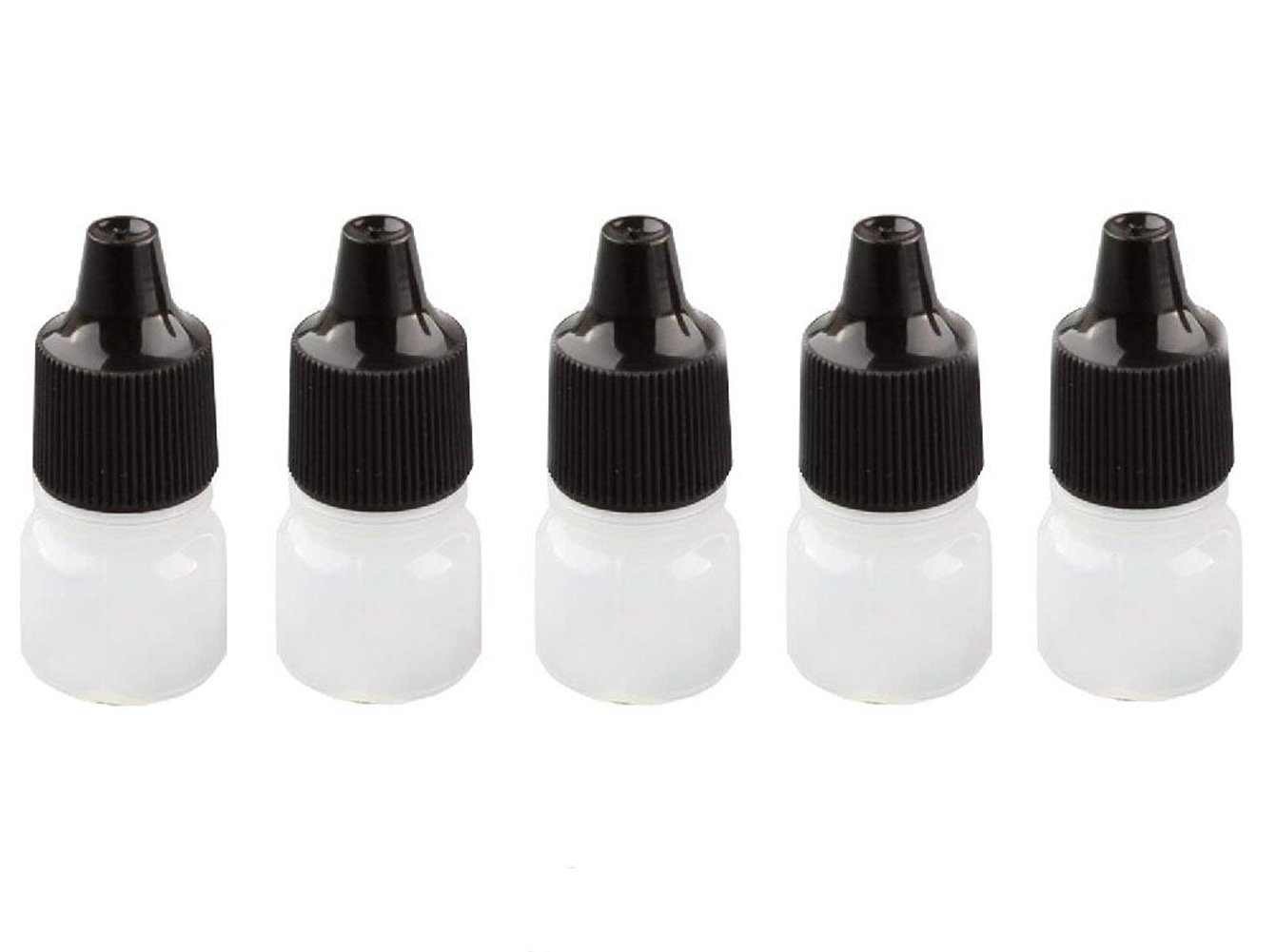 ericotry 5ml Empty Plastic It is very popular Dropper Dropping Bottle Excellent Bottles with