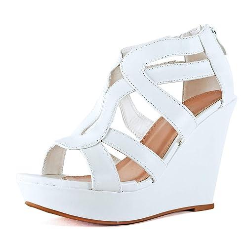 46bbaac718c97 Women's White Wedges: Amazon.com