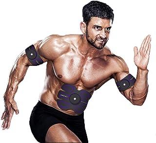 EMS ABSトレーナー、腹部調色ベルトAbトナーEMSマッスルスティミュレーター、マッスルトナーフィットネストレーニングギア(男性用)女性腹部&アーム&レッグトレーナー