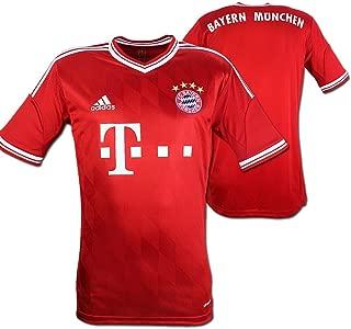 adidas FC Bayern Munich Youth Home Soccer Jersey